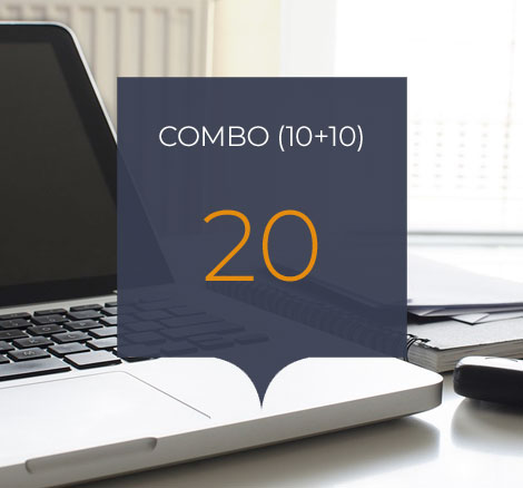 Combo 20 horas
