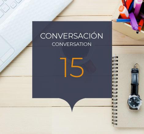 Conversacion 15 clases
