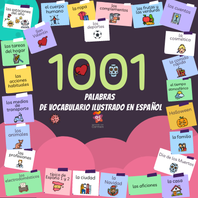 Comprar e-book de vocabulario ilustrado en español